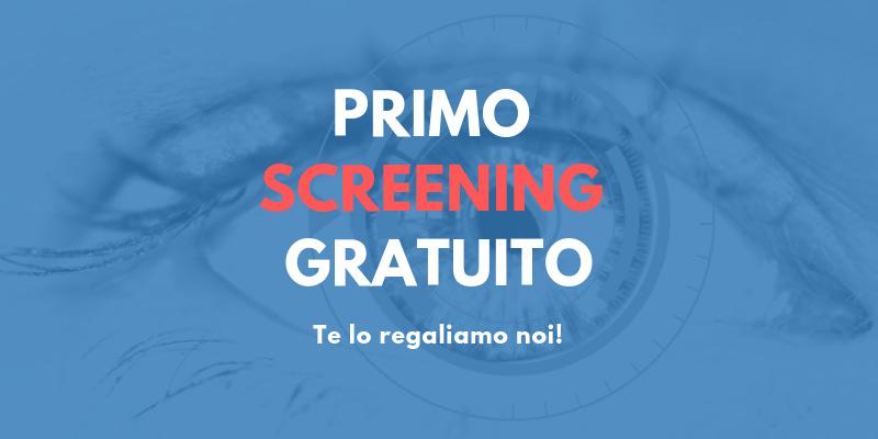 promozione primo screening gratuito